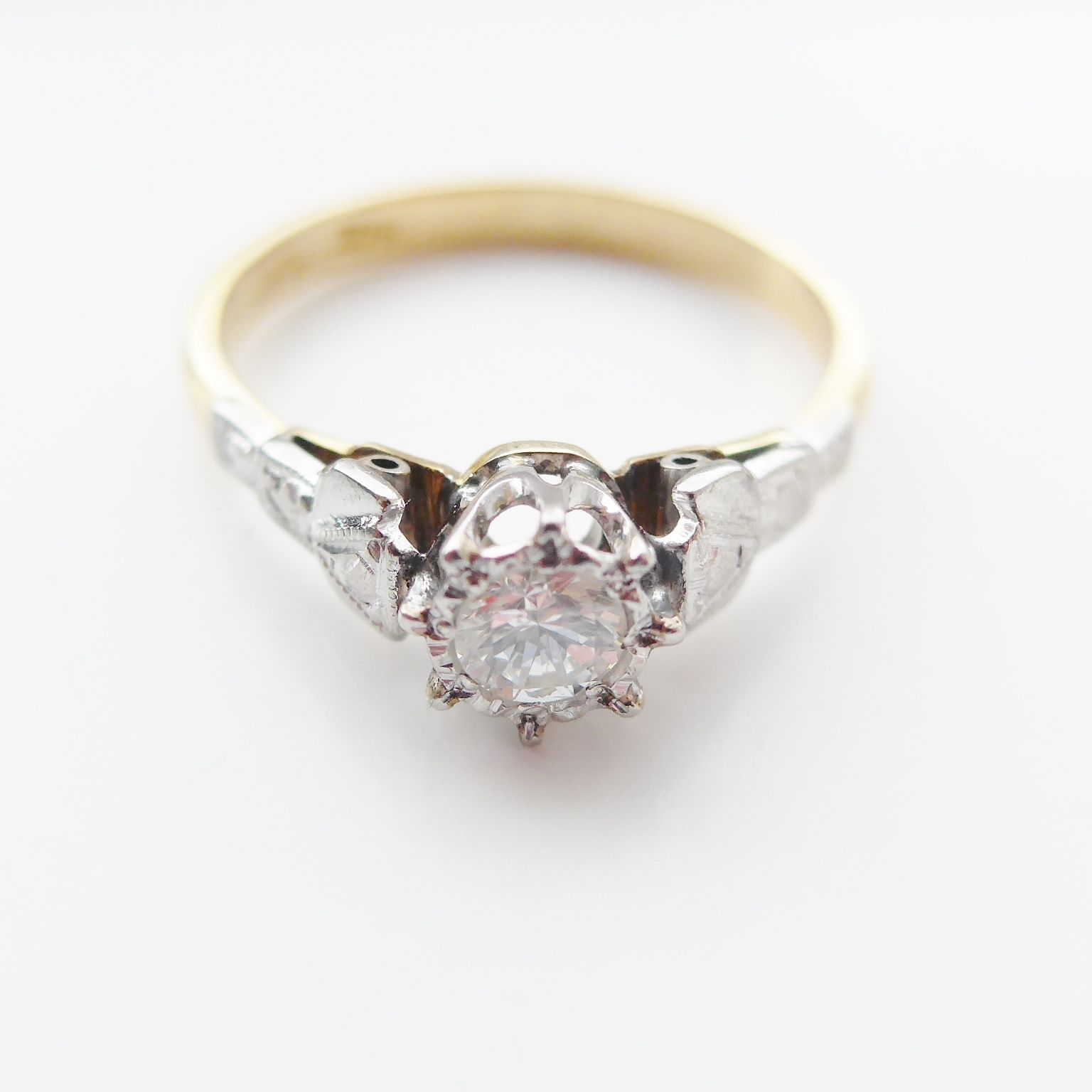diamond ring solitaire weldon matthew rings engagement product img